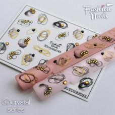 Tatuaj Unghii 3D Crystal-45