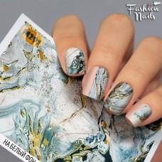 Tatuaj Unghii Metallic-291