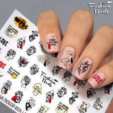 Tatuaj Unghii Metallic-295