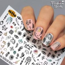Tatuaj Unghii Metallic-296