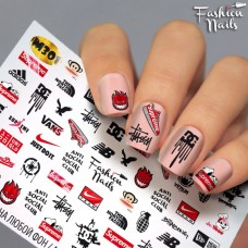 Tatuaj Unghii Metallic-301
