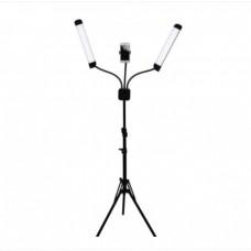 Lampa Cosmetica, LED, Lumina Rece/calda, Cu Trepied si Geanta