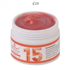 Gel de unghii UV/LED, 15 ml,  pentru constructie, FSM Nr.15