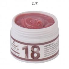 Gel de unghii UV/LED, 15 ml,  pentru constructie, FSM Nr.18