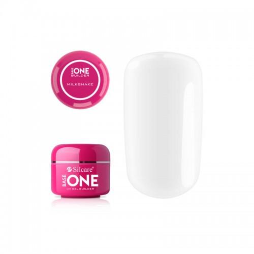 Gel UV Base One, 3 in 1 Autonivelant, Milkshake, 100 ml