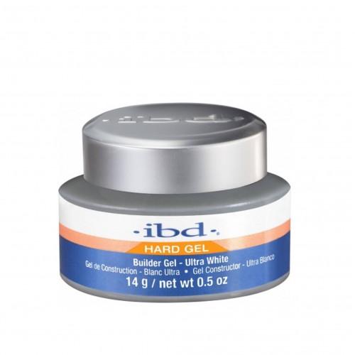 Gel UV IBD Builder Gel, 3 in 1 Autonivelant, Ultra White, 14g