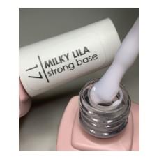 Base coat UV de unghii, 12 ml, Base Cover Macks 17 Milky Lila