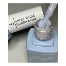 Base Cover Macks Professional, 09, Milky White, 12ml