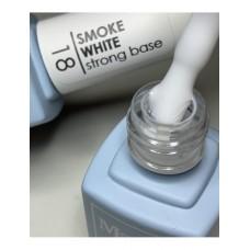 Base coat UV de unghii, 12 ml, Base Cover Macks 18 Smoke White