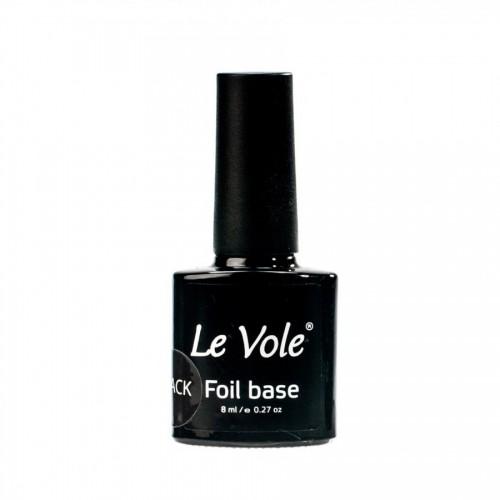 Base coat pentru folia de transfer, Foil Base Black Le Vole, 8ml