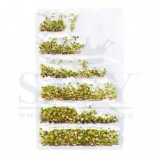 Cristale, Unghii, Aurii diverse  marimi, 1440 buc.