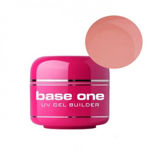 Gel UV Base One, 3 in 1 Autonivelant, French Pink, 100 ml