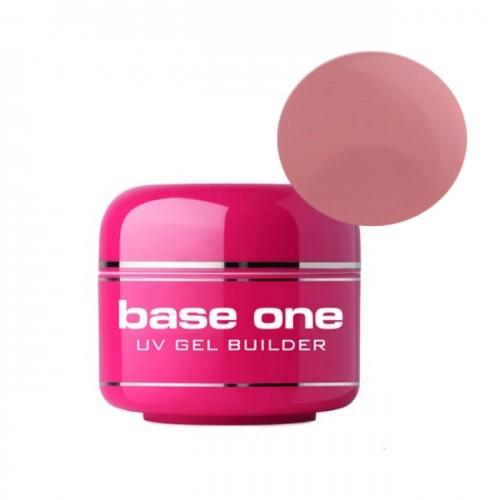 Gel UV Base One, 3 in 1  Autonivelant,  Pink, 100 ml