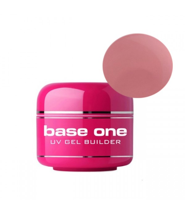 Gel UV Base One, 3 in 1  Autonivelant,  Pink, 100 ...