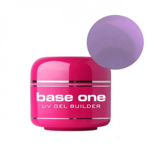 Gel UV Base One, 3 in 1 Autonivelant,  Violet, 50 ml
