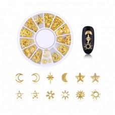 Carusel ornamente pentru unghii
