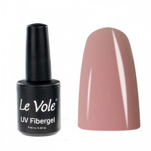 Base Coat, Unghii, Le Vole Fibergel Rosy Pink, 9ml