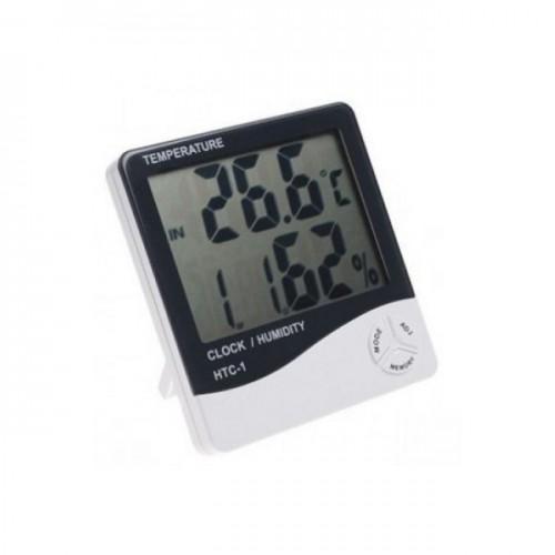 Higrometru digital cu termometru si ceas