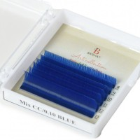 Extensii de gene color Barhat Blue MIX