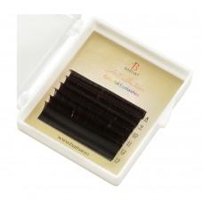 Extensii de gene color Barhat Dark Chocolate MIX