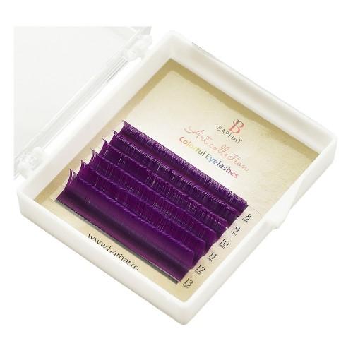 Extensii de gene color Barhat Violet MIX
