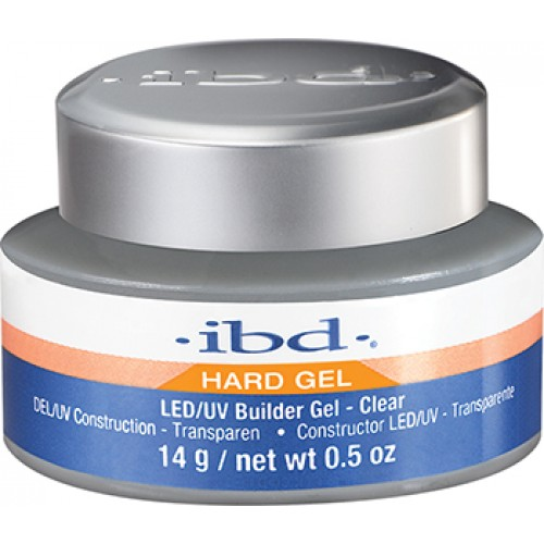 Gel LED/UV IBD Builder Gel, Autonivelant, Clear, 14g