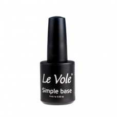Base Coat Oja Semipermanenta Le Vole Simple Base, 9ml