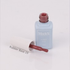 Cover Rubber Base Unghii, Macks Professional 19, 7 ml