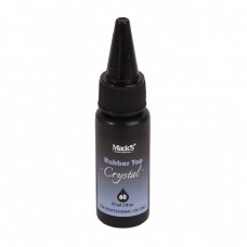 Rubber Top Coat Unghii, Macks Professional Crystal Top, 60ml