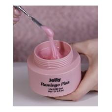 Gel UV/LED Macks Professional, Flamingo Pink Jelly, 50g