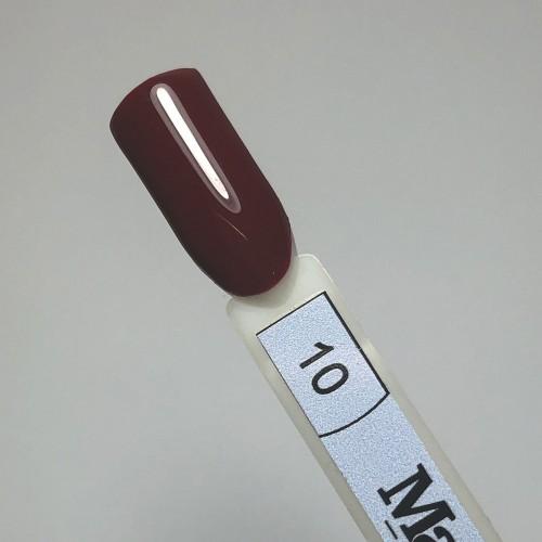Oja semipermanenta Macks Lux Gel Polish 10,Rosu, 10 ml