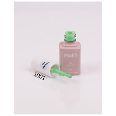 Oja semipermanenta Macks Lux Gel Polish 1001, Verde, 10 ml