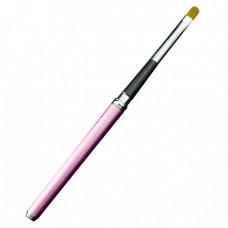 Pensula unghii cu varf rotund cu capac nr 6