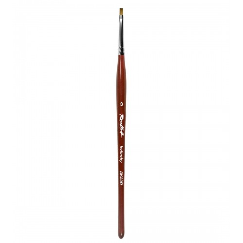 Pensula Unghii Roubloff Kolinsky DK23R, Din Par Natural