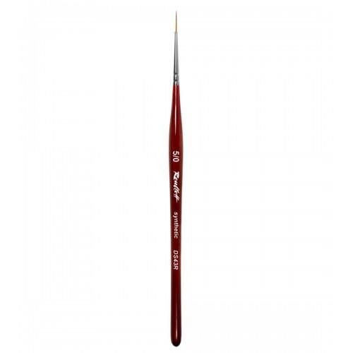 Pensula Unghii Roubloff DS43R, Din Par Sintetic
